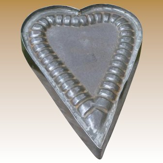 Tinsmith Tin Heart Ice Cream Mold