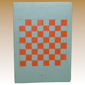 Folk Art Handmade Gameboard