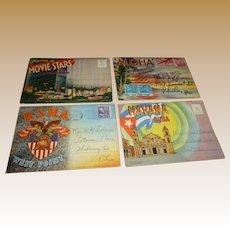 Vintage Souvenir Postcard Books