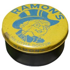 Rare Size Ramon's Advertising Tin
