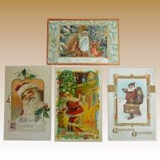 Winsch Santa Claus Christmas Postcards