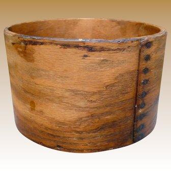 Daniel Cragin New Hampshire Bentwood Dry Measure
