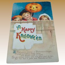 Clapsaddle Halloween Postcard