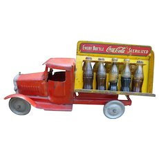 Metalcraft Pressed Steel Coca Cola Truck