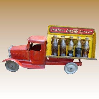 Metalcraft Pressed Steel Coca Cola Truck