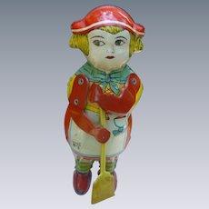Lindstrom Sweeping Kantinka Wind Up Toy