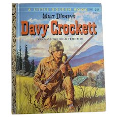 Davy Crockett Little Golden Book