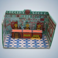 Marx Home Town Tin Lithographed Country Store