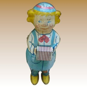 Lindstrom Wind Up Tin Lithographed Toy