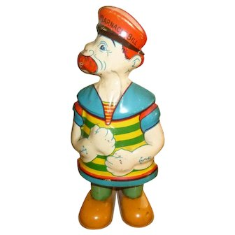 Barnacle Bill Tin Wind Up Toy