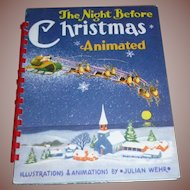 The Night Before Christmas Animated Children's Book Wehr
