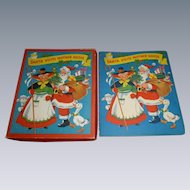 Santa Visits Mother Goose Pop Up Children's Book