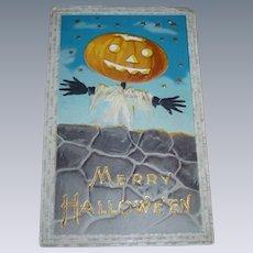 Unused Halloween Postcard