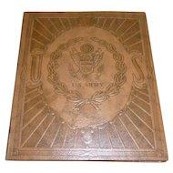 WWII US Army Stationary Binder