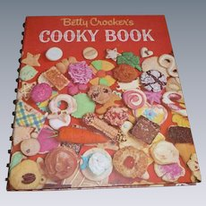 60's Betty Crocker's Cooky Book Cookbook
