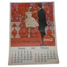 1962 Coca Cola Calendar