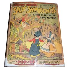 1933 Disney Silly Symphonies Pop Up Book