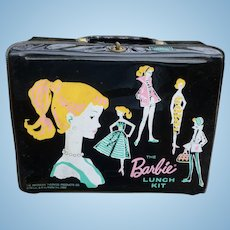 Barbie Vinyl Lunch Kit W/Thermos