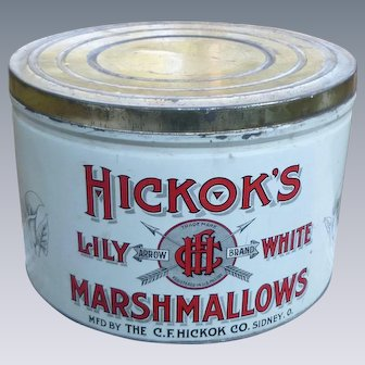BIG Hickok's Marshmallows Tin