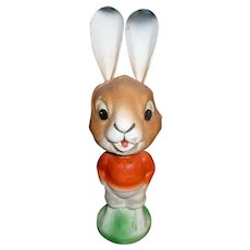 German Paper Mache Easter Rabbit Nodder