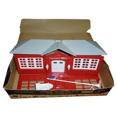 Plasticville School House Kit