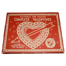 Vintage Valentine Making Kit