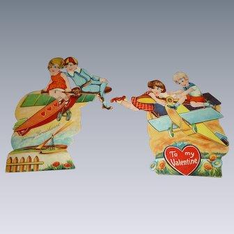 Vintage Mechanical Valentines