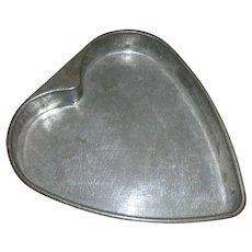 Vintage Heart Cake Or Tart Pan