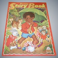 Picture Story Book Featuring Little Black Sambo