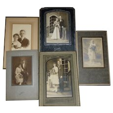 Charming 1920's Wedding Photographs