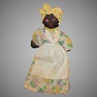 Black Stockinette Doll