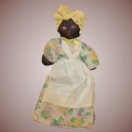 Black Stockinette Doll
