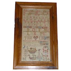 Antique Sampler Wonderful Graphics