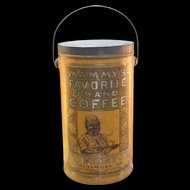 C D Kenny Mammy's Favorite Brand Coffee Tin