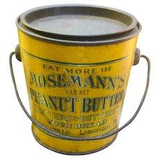 Mosemann's Peanut Butter Tin Pail