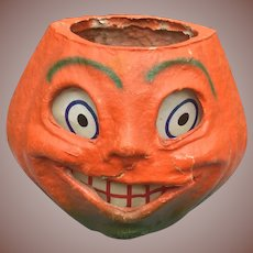 Vintage Halloween Jack O Lantern