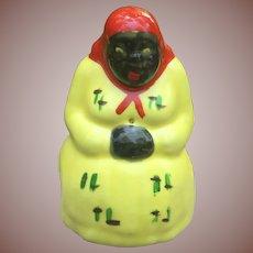Black Americana Mammy String Holder Occupied Japan