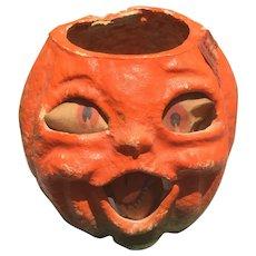 Vintage Halloween Pumpkin Lantern