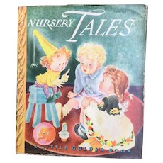 Nursery Tales Little Golden Book With Dust Jacket