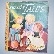 Nursery Tales Little Golden Book With Dust Jacket