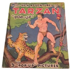The New Adventures Of Tarzan Pop Up Children's Book