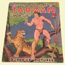 The New Adventures Of Tarzan Pop Up Children's Book