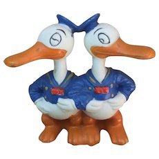 Double Donald Duck Disney Toothbrush Holder