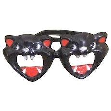 Black Cat Foster Grant Halloween Glasses