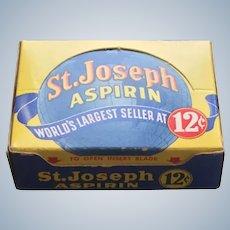 NOS St. Joseph Aspirin Counter Display