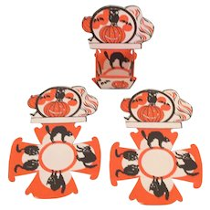 Vintage Halloween Nut Cups Place Cards