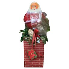 Vintage Santa Claus Candy Container