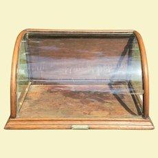 Antique J R Priwley's Pepsin Chewing Gum Store Display Case