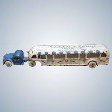 Vintage Arcade 1933 Chicago World's Fair Greyhound Bus