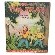 The Pop Up Tim Tyler In The Jungle Children's Book